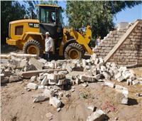 إزالة 476 حالة تعدٍ بالمباني على أملاك الدولة والأراضي الزراعية بالدقهلية