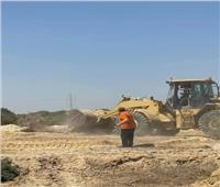 الإسكان: إزالة تعديات على ٥٩ فدانا شرق الكتلة السكنية بالفيوم الجديدة