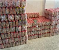 ضبط مدير مخزن بـ 82 ألف عبوة حلوى تهدد صحة الأطفال بالإسكندرية