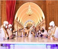 البابا تواضروس يدشن كاتدرائية مار جرجس في الخطاطبة