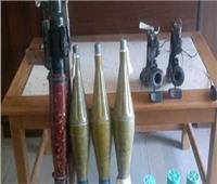 أبرزهم «أربي جي وجرينوف».. ضبط 797 قطعة سلاح وتنفيذ 446 ألف حكم قضائي