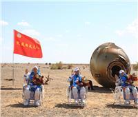 كبسولة عودة المركبة الفضائية المأهولة شنتشو-12 تهبط بنجاح