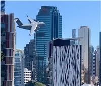 طائرة عسكرية أسترالية.. تعيد ذكريات 11 سبتمبر | فيديو