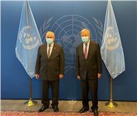 وزير خارجية الجزائر يبحث مع جوتيريش أزمة الصحراء الغربية