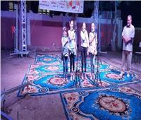 انطلاق فعاليات المسرح المتنقل بقرية أبيوها بالمنيا
