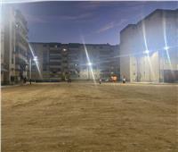 الغضبان: إضاءة منطقة فاطمة الزهراء ضمن أعمال التطوير