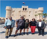 رحلة سياحية لضيوف مهرجان الإسكندرية السينمائي   صور