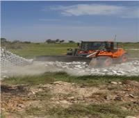 إزالة 3 مخالفات تعدى بالبناء على أراض زراعية بالأقصر