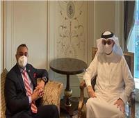 سفير البحرين بالقاهرة يلتقي مدير المكتب الإقليمي للاتحاد الدولي للاتصالات