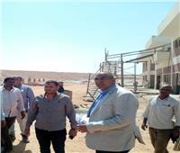 بدء التشغيل التجريبي لمحطة معالجة الصرف الصحي بسوهاج الجديدة