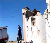 اليونان: مقتل شخص إثر انهيار كنيسة بسبب زلزال في جزيرة كريت