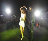 روچينا تكشف رأي زوجها في رقصها مع راغب علامة