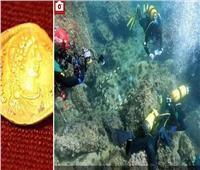 شابان يعثران على كنز تاريخي من الذهب فى قاع البحر