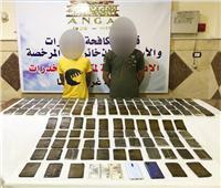 القبض على تاجري مخدرات قبل ترويج 125 طربة حشيش بالبحيرة
