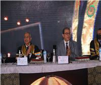 وزير القوي العاملة يشارك في حفل تخريج طلاب الأكاديمية العربية