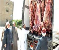 الثلاثاء.. «الأوقاف»توزع 14 طن لحوم أضاحي على الأسر الأولى بالرعاية