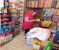ضبط ٤٧ طن ارز فاسد بمركز البلينا بسوهاج