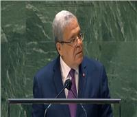 وزير خارجية تونس: لا يمكن إرساء الديمقراطية دون مكافحة الفساد