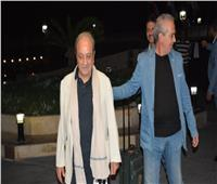صور.. وصول دريد لحام لمهرجان الإسكندرية السينمائي الـ 37