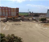 بدء الحفر لإنشاء المجمع الزراعي بقرية «دراجيل» بالمنوفية