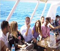 صور  ختام فعاليات اليوم العالمي للسياحة برحلة بحرية بالغردقة