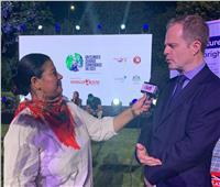 السفير البريطاني: شربت من مياه النيل.. وتسعدني العودة لمصر بعد 24 عامًا | خاص