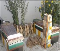 مسئول بالآثار: القطعة الأثرية والتوابيت الفرعونية في أفغانستان مقلدة