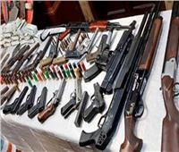 حبس مسجل خطر ضبط بحوزته اسلحة نارية ومخدرات بالمطرية