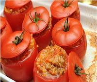 لعشاق المحاشي   طريقة عمل محشي «طماطم»
