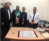جمارك مطار القاهرة تضبط محاولة تهريب عدد من العملات المعدنية المصرية الأثرية
