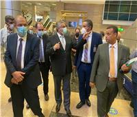 لجنة التفتيش الأمني والبيئي بالمطارات تتفقد مطار القاهرة الدولي