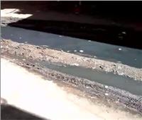قرية «عتامنه الجعافرة» بالفيوم تغرق في مياه الصرف الصحي