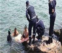 بعد 4 ايام من غرقه..انتشال جثة شخص مجهول الهوية بفرع النيل بالبحيرة