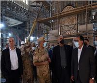 رئيس وزراء الأردن يشيد بحجم العمل بالمشروعات.. ويبدي إعجابه بمسجد مصر