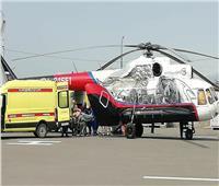 مصرع 3 أشخاص في حادث سقوط مروحية قرب العاصمة الروسية موسكو