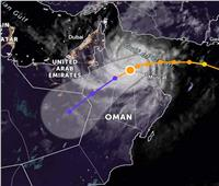 «الأرصاد» توضح رحلة إعصار شاهين وسرعته بين الدول العربيه