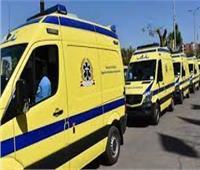 بالأسماء.. إصابة 9 أشخاص في تصادم سيارة بـ«كارو» في المنيا