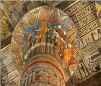 صور  بعد الانتهاء من ترميمه.. جمال وروعة معبد خنوم بإسنا