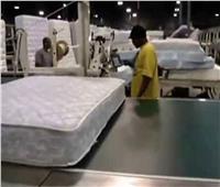 ضبط مصنع غير مرخص لإنتاج المراتب الإسنفجية بالجيزة