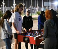 أنشطة رياضية للمشاركين بمنتدي الشباب المصري الروسي