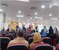 احتفالات حزب حماة الوطن ببورسعيد بانتصارات أكتوبر المجيدة