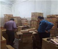 ضبط مستحضرات تجميل منتهية الصلاحية بمخزن في الإسكندرية