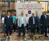 وزيرا التعليم العالي والرياضة يطلقان ماراثون تحيا مصر بجامعة قناة السويس