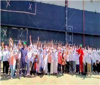 ترسانة بورسعيد البحرية تستضيف أطفال ملتقى أهل مصر