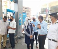 حملة مكبرة على المخابز البلدية ومحطات الوقود بالأقصر