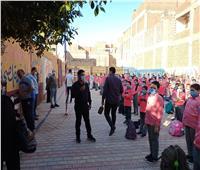 بدء العام الدراسي الجديد في 300 مدرسة ببني سويف وسط إجراءات وقائية مشددة