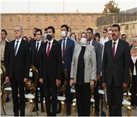 وزير الرياضة والسفير الروسي يختتمان منتدى الشباب المصري الروسي