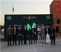 وزير الشباب والسفير الروسي يكرمان المشاركين بالمنتدي المصري الروسي الثاني