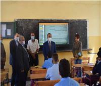 جولات مكثفة لقيادات محافظة المنيا لمتابعة انتظام سير العملية التعليمية