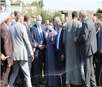 وزير الزراعة ومحافظ الغربية يعقدان مؤتمرا موسعا حول تطوير منظومة الري